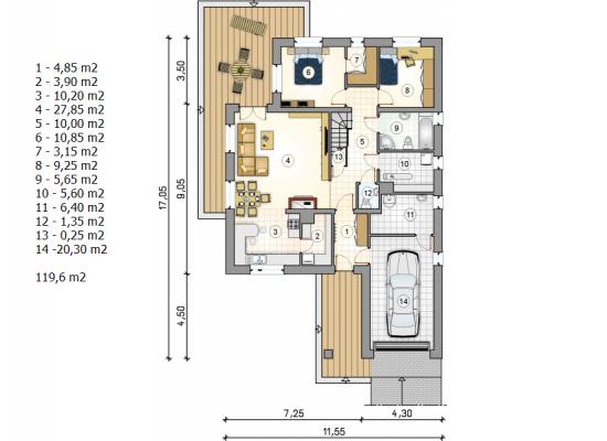 Māja  AT-12 by labamaja