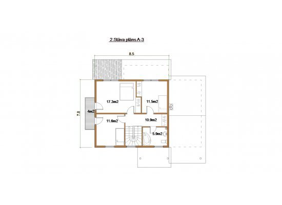 Māja A-3 by labamaja