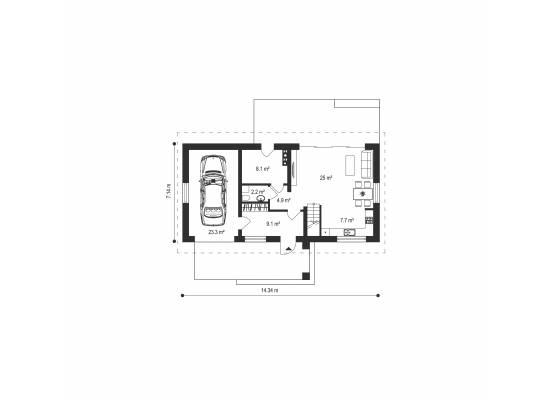 Māja LM-8 by labamaja