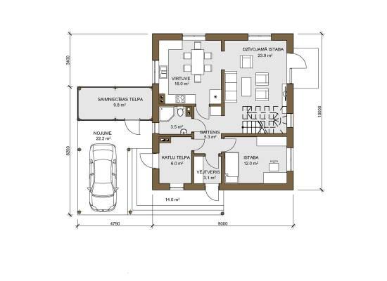 Māja V-43 by labamaja